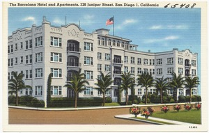 The Barcelona Hotel and Apartments, 326 Juniper Street, San Diego 1, California