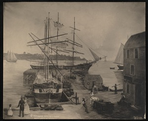 Harbor with Whalers
