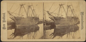 Whaling Ship Docked in New Bedford Harbor