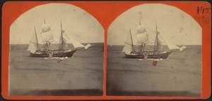 Whaling Ship Launching Whaleboat