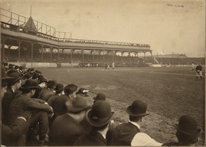 Rooters at Pittsburgh Ball Grounds, 1903 World Series