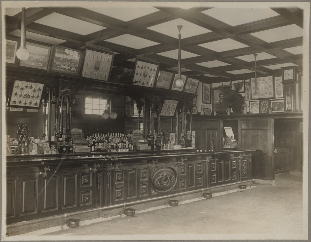 Interior of Third Base, Michael T. McGreevy's Saloon