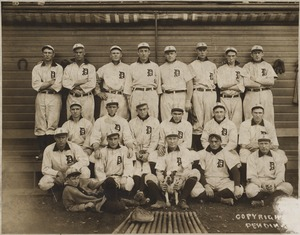 Detroit Tigers, Champions of the American League in 1907