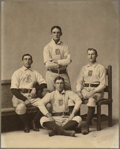 Famous Boston Infield of 1900