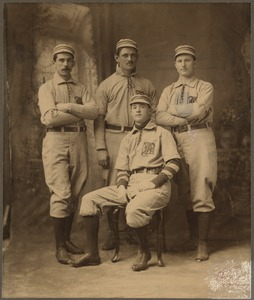 Boston Nationals infielders in 1901