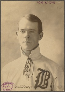 Boston Nationals catcher Martin Bergen