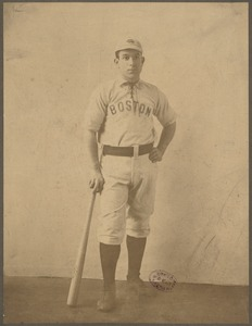 Boston Nationals outfielder Hugh Duffy