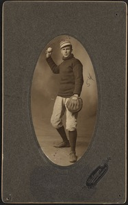 Boston Americans catcher Lou Criger