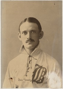 Boston Nationals first baseman Fred Tenney