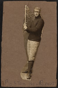 Boston Americans catcher Larry McLean
