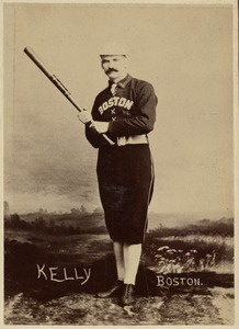 Michael Kelly of the Boston Players League team