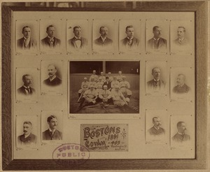 American Association Boston Reds team of 1891