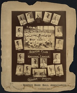 Boston National League Team, 1890
