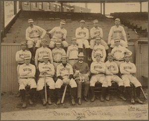 Boston National League Team, 1900