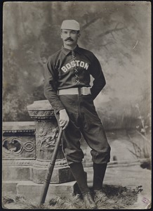 King Kelly in Boston uniform