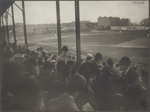 Stands along the third base line, Huntington Avenue Grounds