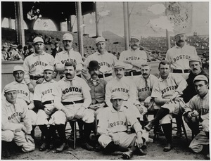 The  team that represented Boston in 1892