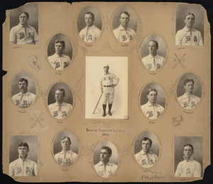 Boston Americans Baseball Team, 1902