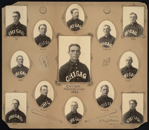 Chicago White Stockings Baseball Team, 1902