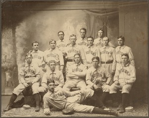 Boston Americans team picture