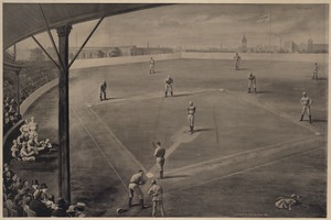 Boston National League Team, South End Grounds