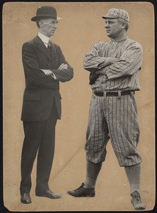 Connie Mack and John McGraw