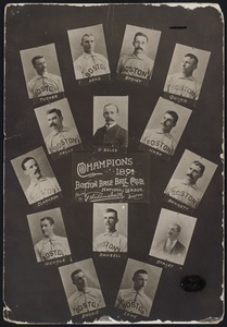 Boston National League Team, 1891
