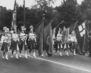 Unidentified color guard