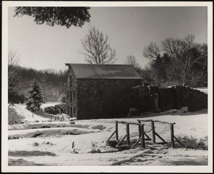Old grist mill, Sudbury, Mass