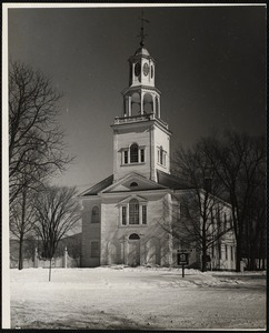 The First Congregational Church, Old Bennintogn, Vt.