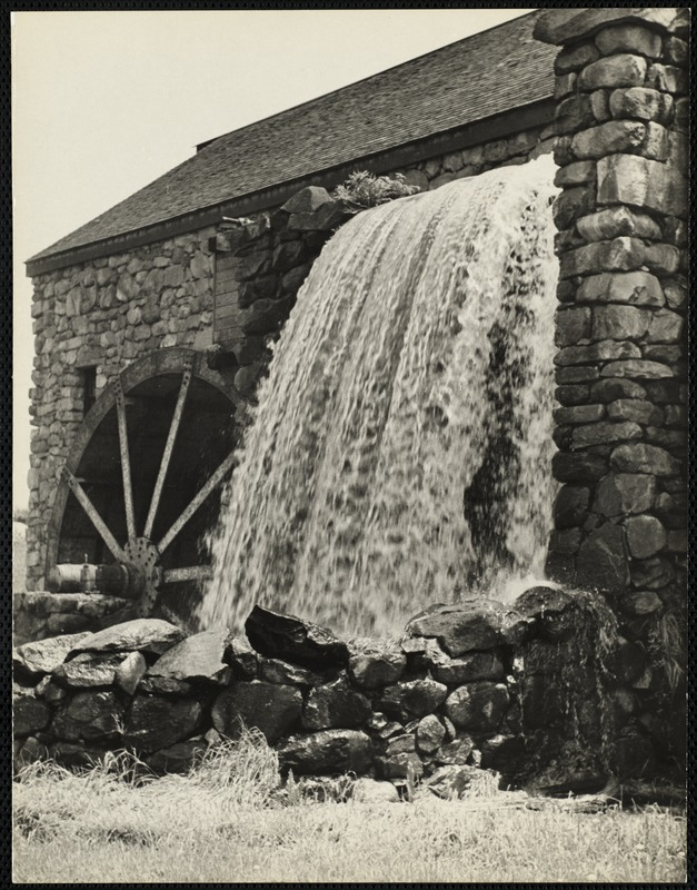 Old mill, Sudbury, Mass