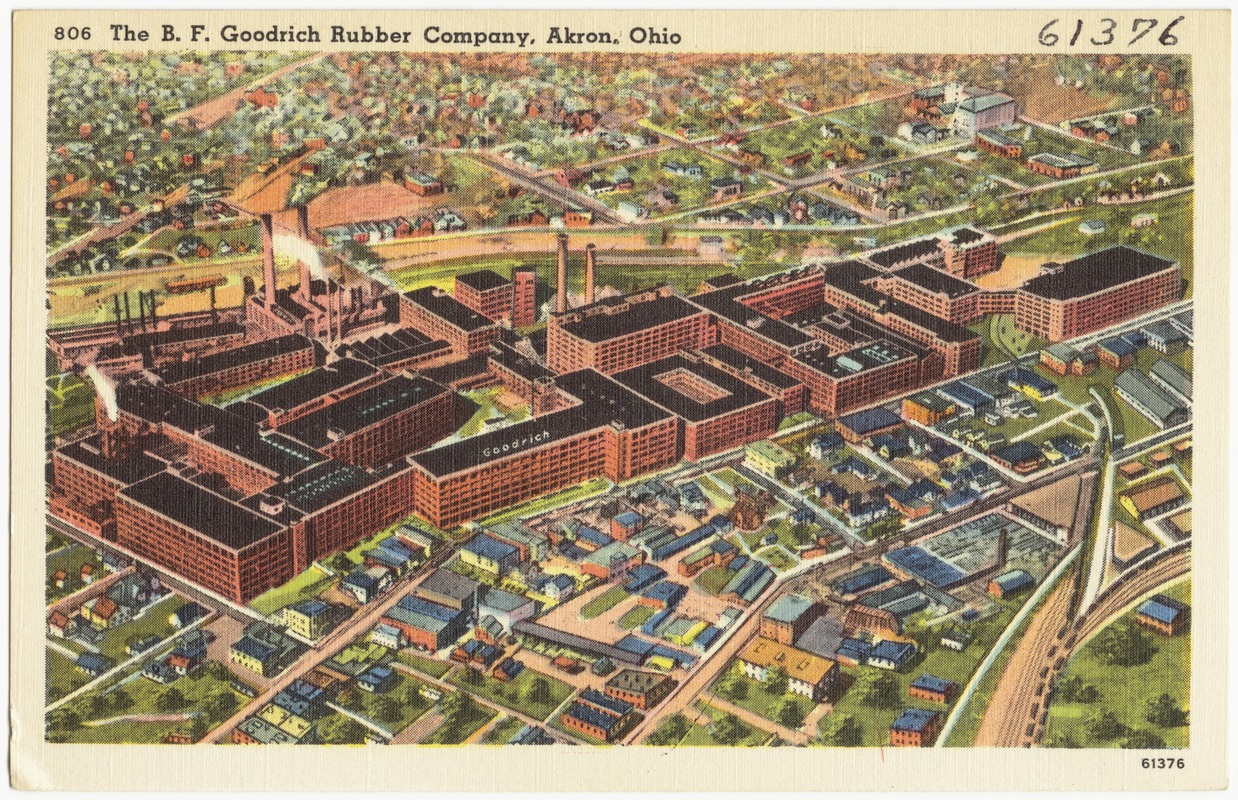 The B. F. Goodrich Rubber Company, Akron, Ohio