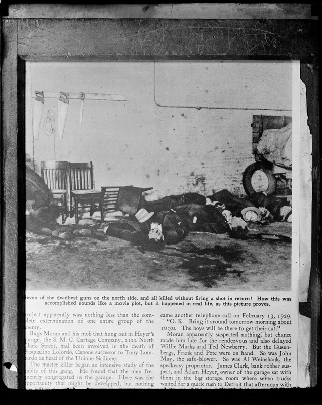 Seven Dead Gangsters   St. Valentineu0027s Day Massacre, Chicago, Ill (JPJ)