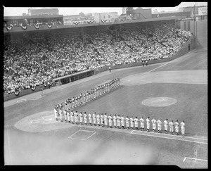Opening ceremony, All-Star Game at Fenway Park
