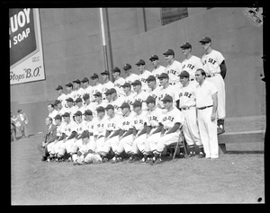 Red Sox team picture