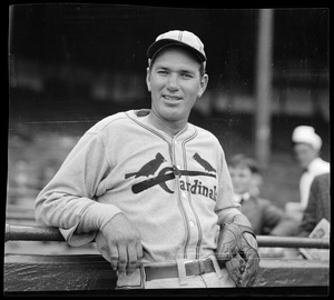 Dizzy Dean of the Cardinals at Braves Field