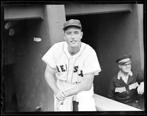Jimmy Piersall of the Red Sox