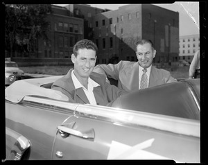 Ted Williams welcomed back from Korean War at Jimmy Fund event