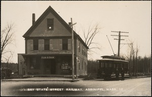 Bay State Street railway, Assinippi, Mass.