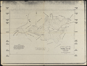 Commonwealth of Massachusetts Metropolitan - Water - Works, Dudley Pond, Wayland