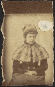 Young woman, unidentified