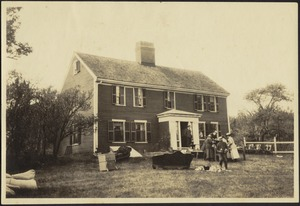 Auction Sale at Enoch Frye House, 14 June 1922, North Andover, Massachusetts