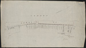 [Plan of Tremont Street, from West to Boylston]