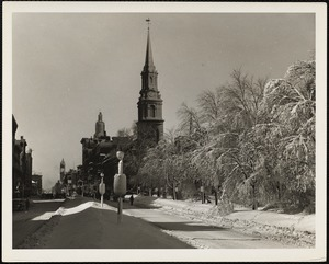 Arlington Street Church Feb. 1945