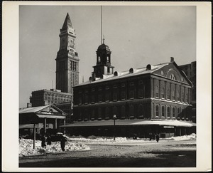 Custom House + Faneuil Hall Feb. 1945