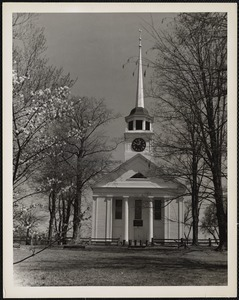 First Parish Meeting House (Unitarian) (1755) Groton, Mass