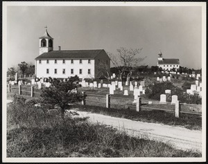 Twin churches - Truro, Mass