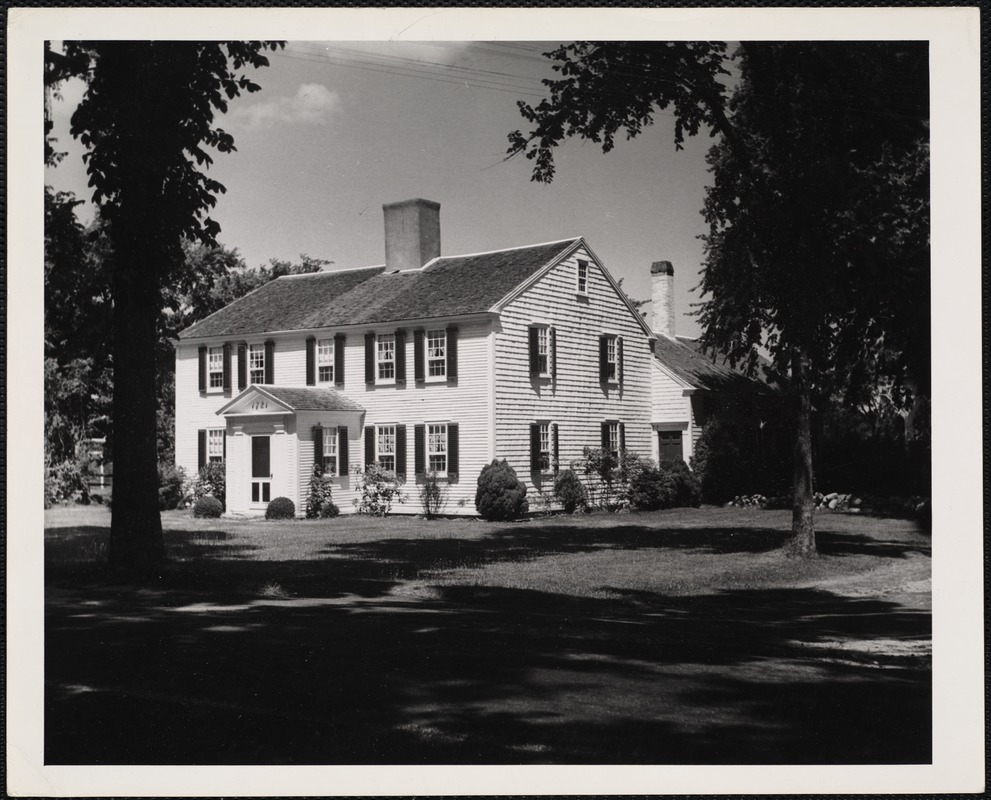 1721 House. Yarmouth, Cape Cod