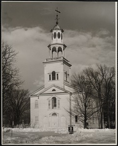 The First Congregational Church, Old Bennington, Vt.