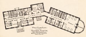Faulkner Hospital first floor plan